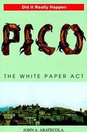 Pico: The White Paper Act