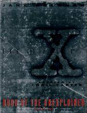 X-Files Book of the Unexplained by  Jane Goldman - from Better World Books  (SKU: 228090-6)