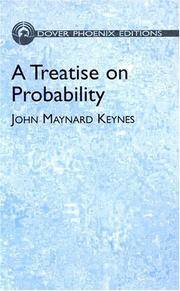 image of A Treatise on Probability (Dover Books on Mathematics)