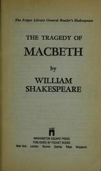 image of The Tragedy of MacBeth (The Folger Library General Readers Shakespeare)