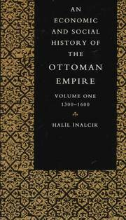 AN ECONOMIC AND SOCIAL HISTORY OF THE OTTOMAN EMPIRE. 2 Volumes.