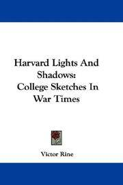 image of Harvard Lights And Shadows: College Sketches In War Times