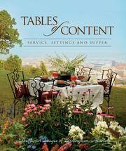 Tables of Content by Junior League of Birmingham; AL - Hardcover - 2006-10-06 - from Gonia Books (SKU: HBR-11249-DM)
