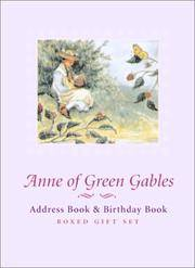 Anne of Green Gables: Address Book and Birthday Book