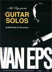 Mel Bay George Van Eps Guitar Solos (Book/CD set)