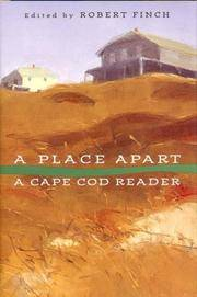 A Place Apart  A Cape Cod Reader