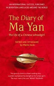 The Diary of Ma Yan Yan, Ma