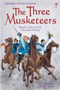 image of THREE MUSKETEERS,THE - Usborne Young Reading Level 3
