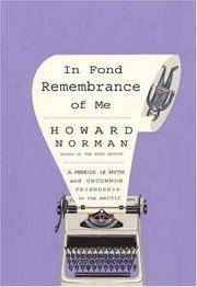 In Fond Remembrance of Me (signed copy)