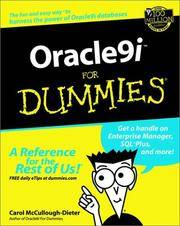 Oracle9i For Dummies