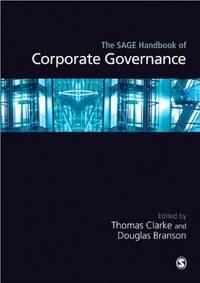 The SAGE Handbook of Corporate Governance (Sage Handbooks)