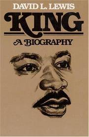 image of King: A BIOGRAPHY (Blacks in the New World) Lewis, David Levering