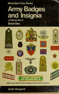 Army Badges and Insignia Of World War Ii, Book 2