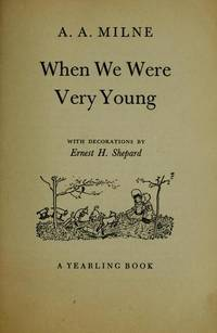 When We Were Very Young by  A.A Milne - Hardcover - from Better World Books  (SKU: 4112706-6)
