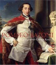 Pompeo Batoni (Houston Museum of Fine Arts) by Edgar Peters Bowron - Hardcover - 2007-06-05 - from Books Express (SKU: 0300126808n)