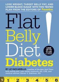 Flat Belly Diet! Diabetes:   Lose Weight, Target Belly Fat, and Lower  Blood Sugar with This...