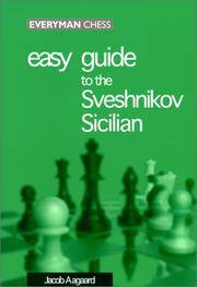 Easy Guide to the Sveshnikov Sicilian. [paperback].