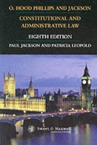O. Hood Phillips and Jackson, Constitutional and Administrative Law