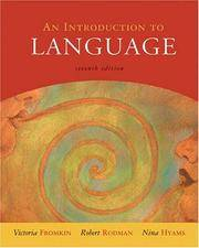 image of An Introduction to Language