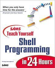 Teach Yourself Shell Programming in 24 Hours