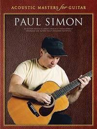 image of Paul Simon - Acoustic Masters for Guitar: Guitar Tab