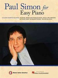 Paul Simon For Easy Piano by Paul Simon  - Paperback  - 2011-04-01  - from Ergodebooks (SKU: DADAX1617806811)