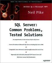SQL Server: Common Problems, Tested Solutions