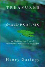 Treasures from the Psalms: 100 Meditations from the Devotional Treasury of the Ages