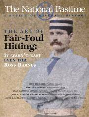 The National Pastime, Volume 20 A Review of Baseball History