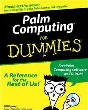 Palm Computing for Dummies