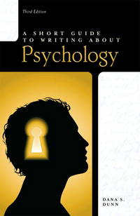 image of Short Guide to Writing About Psychology, Paperback, 3rd edition.