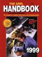 1999 The Arrl Handbook for Radio Amateurs