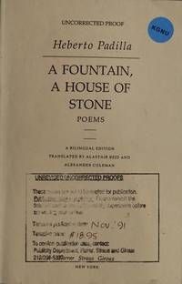 A Fountain, a House of Stone: Poems