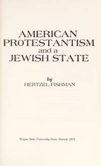 American Protestantism and a Jewish state