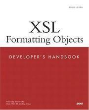 XSL FORMATTING OBJECTS : DEVELOPER'S HANDBOOK