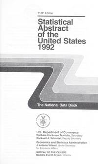 Statistical Abstract of the United States 1992