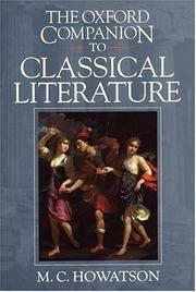 The Oxford Companion to Classical Literature (Oxford Companions)