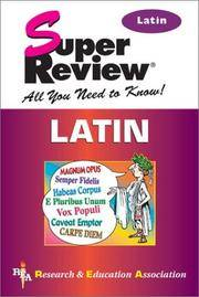 Latin Super Review (Super Reviews Study Guides)