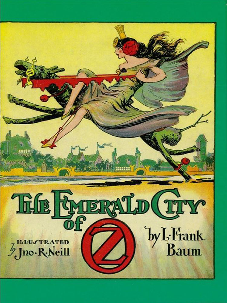 The Emerald City Of Oz By L Frank Baum Paperback From