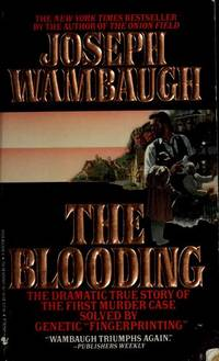 The Blooding by  Joseph Wambaugh - Paperback - 1989-11-01 - from Kayleighbug Books and Biblio.com