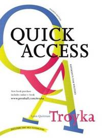 SIMON AND SCHUSTER QUICK ACCESS REFERENCE FOR WRITERS