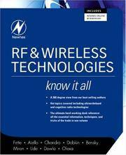 RF and Wireless Technologies: Know It All (Newnes Know It All)