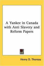 image of A Yankee in Canada with Anti Slavery and Reform Papers