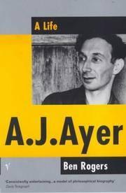 A. J. Ayer: A Life.
