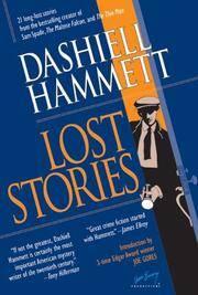 Dasiell Hammett Lost Stories