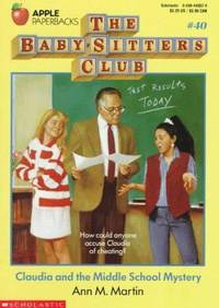 image of Claudia and the Middle School Mystery (Baby-Sitters Club, 40)