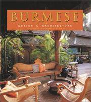 Burmese Design and Architecture.