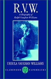 R.V.W.: A Biography of Ralph Vaughan Williams (Clarendon Paperbacks)