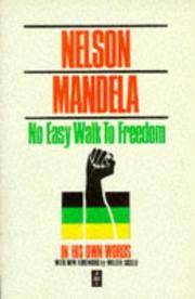 No Easy Walk to Freedom (African Writers Series)