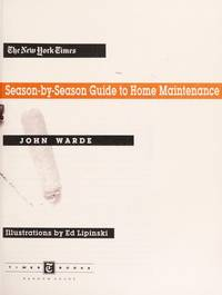 NYT Guide/Home Maintenance by  John Warde - First Edition - from MediaBazaar and Biblio.com